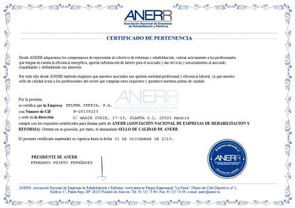 Certificado Anerr opt
